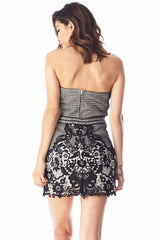 Selena Strap Less Lace Mini , Dresses - Fashion Trend LA, Fashion Trend LA  - 2