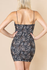 Snake'n Bodycon Mini