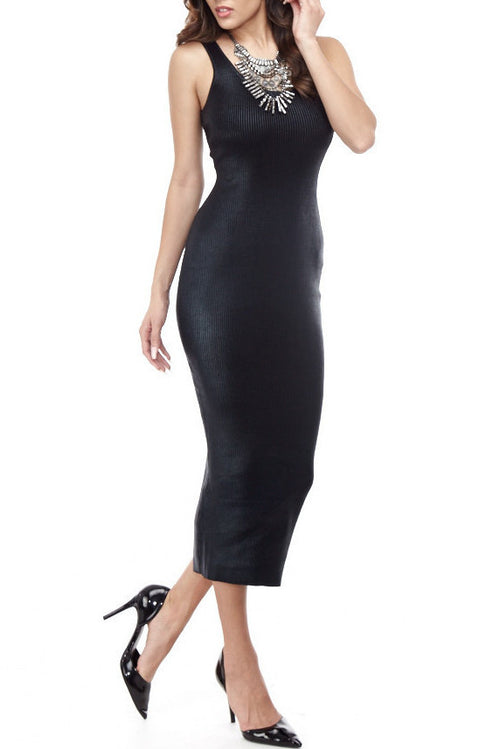 Tara Rib Knit Small / Black, Dresses - Fashion Trend LA, Fashion Trend LA  - 1