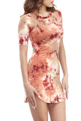 Tie Dye Miley Mini , Dresses - Fashion Trend LA, Fashion Trend LA  - 2