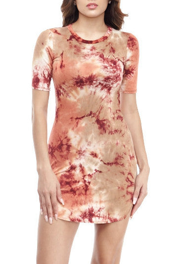 Tie Dye Miley Mini Small, Dresses - Fashion Trend LA, Fashion Trend LA  - 1