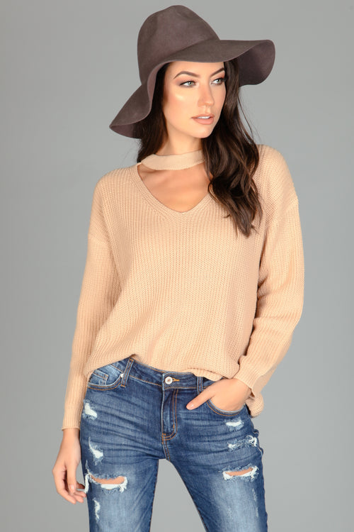 Up To Our Neck Knit Sweater