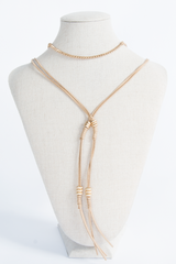 Wrap Choker Necklace One Size / TAN, Accessories - Fashion Trend LA, Fashion Trend LA  - 1
