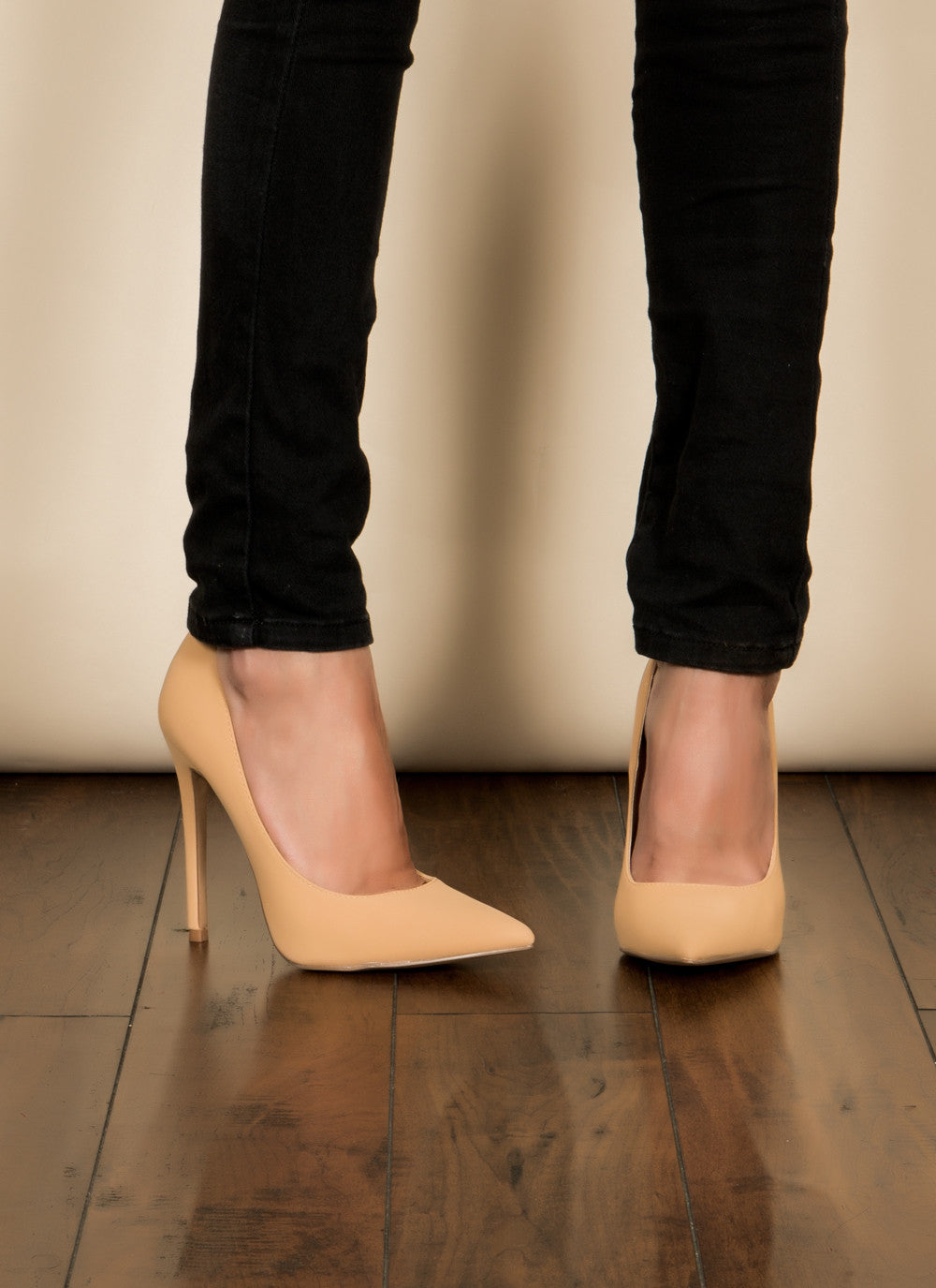 Camel Pumps , Shoes - Fashion Trend LA, Fashion Trend LA  - 2
