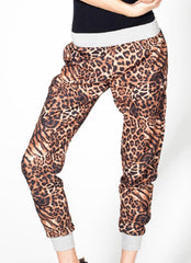 Leopard Jogger Pants , Bottoms - Fashion Trend LA, Fashion Trend LA  - 2