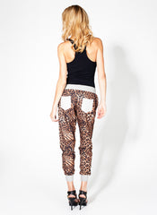 Leopard Jogger Pants , Bottoms - Fashion Trend LA, Fashion Trend LA  - 4
