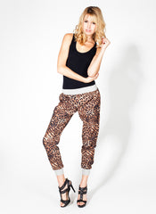 Leopard Jogger Pants , Bottoms - Fashion Trend LA, Fashion Trend LA  - 3