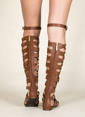 Gladiator Sandals , Shoes - Fashion Trend LA, Fashion Trend LA  - 3