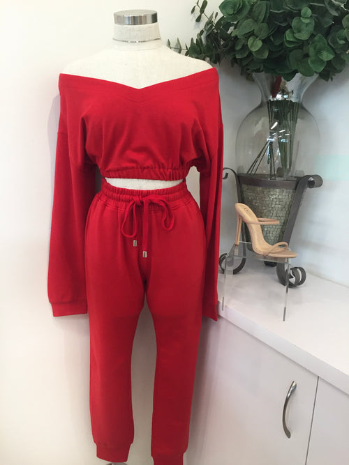 Sweatpants Set