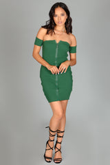 Zip-It Mini Dress