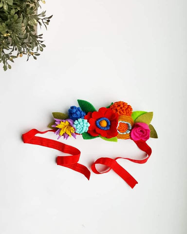 Fiesta Felt Crown