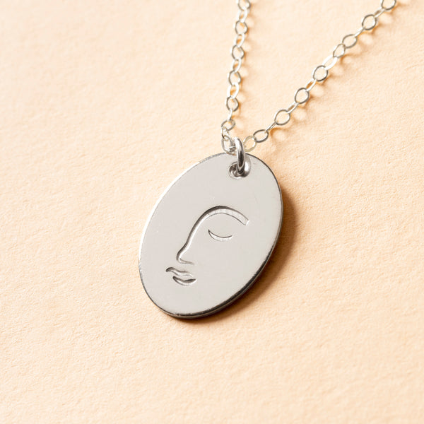 Faciem Signet Necklace