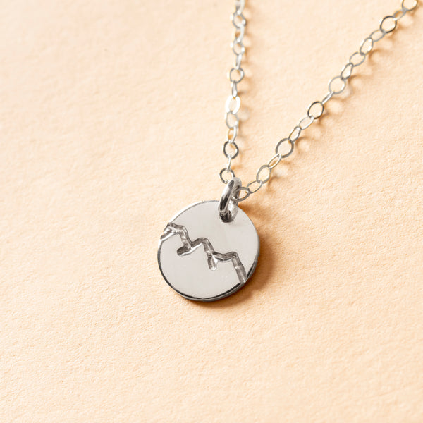 Mountain Petite Charm Necklace