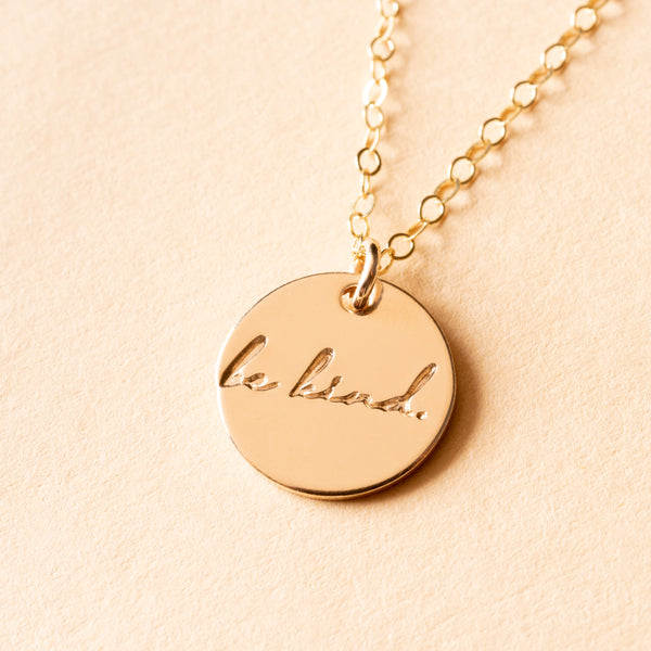Be Kind Charm Necklace