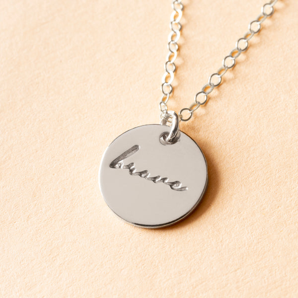 Brave Charm Necklace