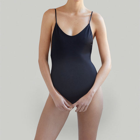 Maternity Solid One-Piece Swimsuit