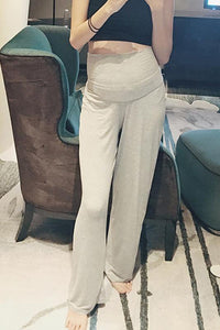 Maternity Loose Wide Leg Pants