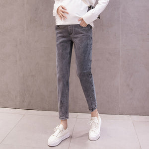 Maternity Fashion Straight Jeans