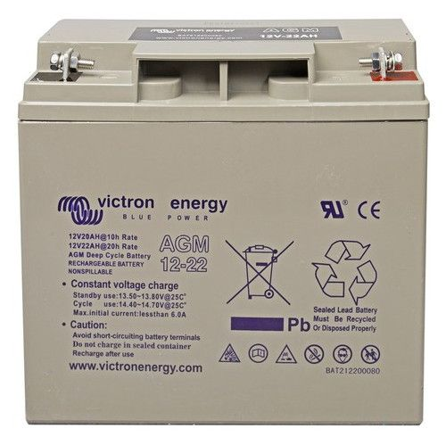 Victron 12V/22Ah AGM Deep Cycle Battery