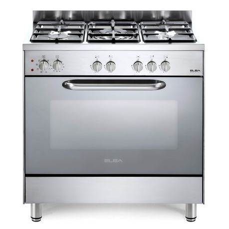 Elba 80cm Stainless Steel Gas/Electric Stove - Gas Stove - {{ shop_name }} - Totai