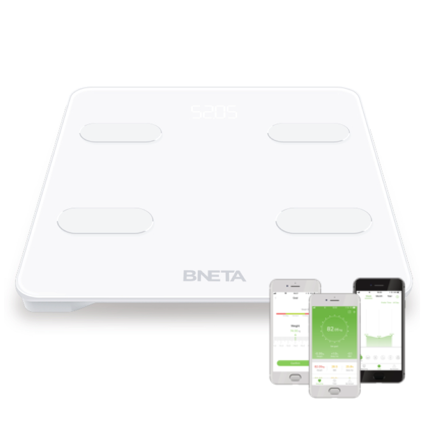 BNETA Smart Body Scale, Bluetooth Body Composition Analyzer - Bathroom Scales - {{ shop_name }} - BNETA