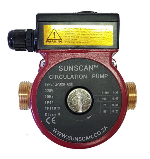 SunScan Variable speed 22mm 220V Bronze pump