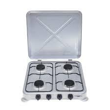 Totai 4 Burner Enamel Hotplate With Lid - Hotplates - {{ shop_name }} - Totai