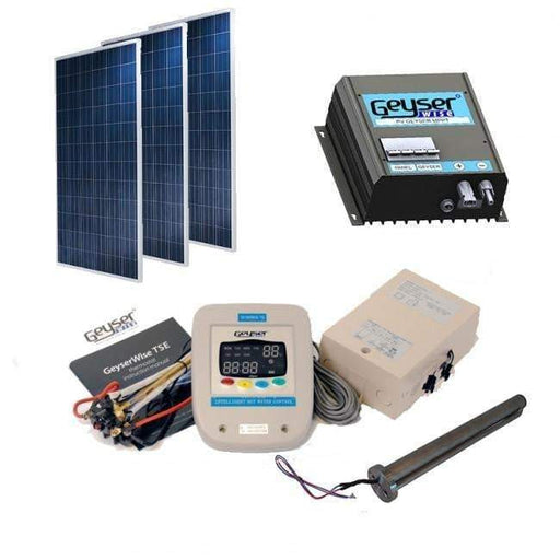 Solar Water Heating Pv System 150L- (Including Panels) - Geyser PV Kit - {{ shop_name }} - Geyserwise
