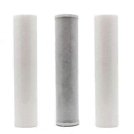 3 Stage Big Blue Replacement Filters Combo - Filter Cartrdidges - {{ shop_name }} - Puritech