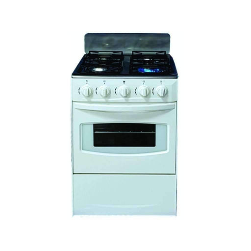 Totai 4 Burner Gas Stove With Flame Failure Device, White - Gas Stove - {{ shop_name }} - Totai