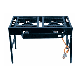 2-Burner Gas Boiling Table - Gas Boiling Table - {{ shop_name }} - Totai