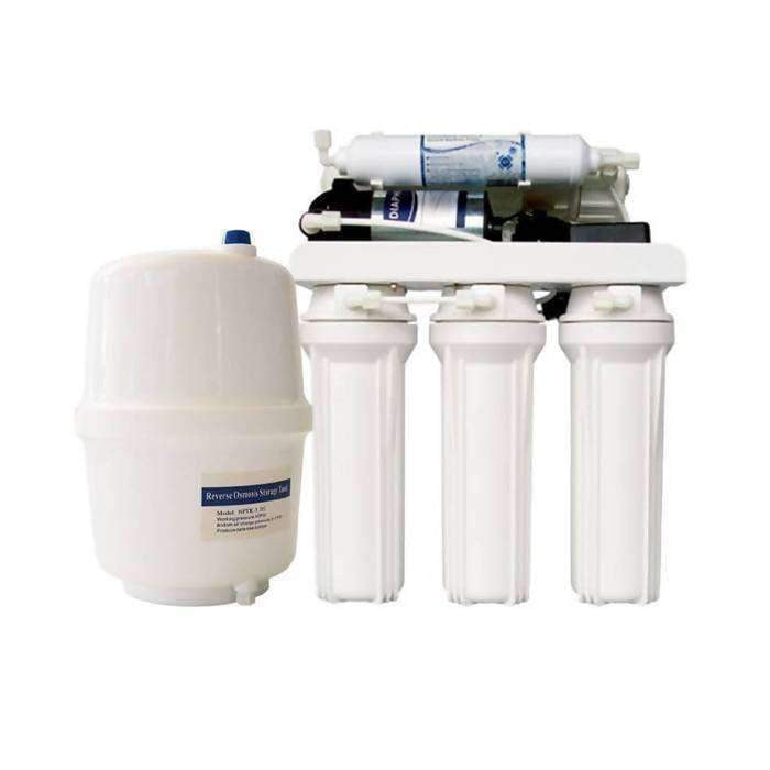 Domestic Reverse Osmosis System 50 Gpd With Pump & Pressure Tank - RO System - {{ shop_name }} - Puritech