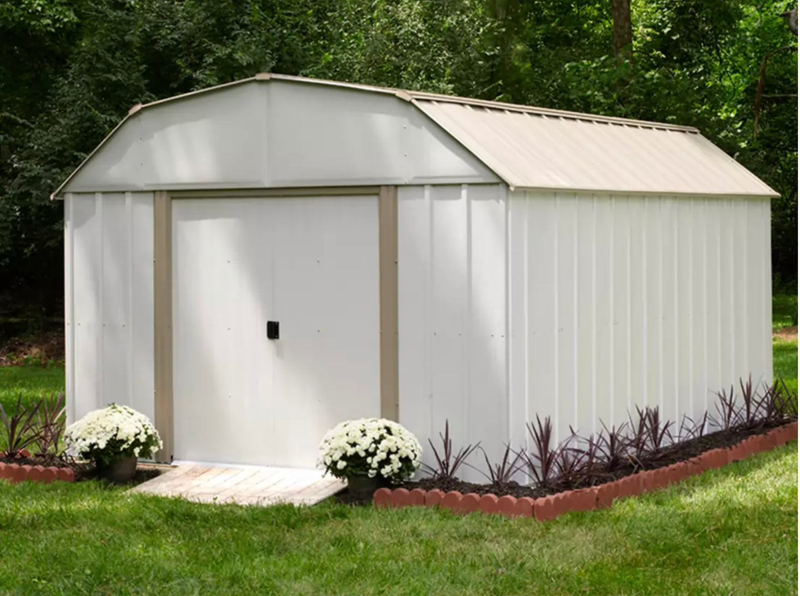 Lexington Steel Storage Shed, 10 ft. x 14 ft.
