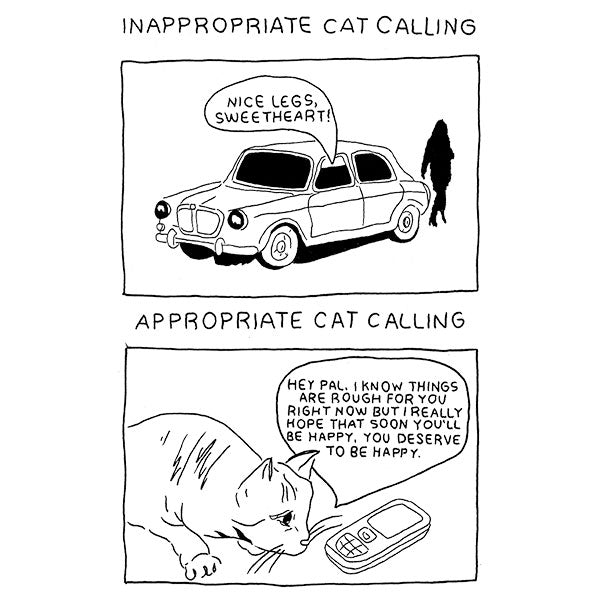 Inappropriate Catcalling vs. Appropriate Catcalling