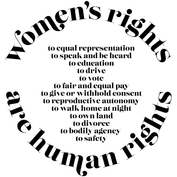 IWD 2018: Women's Rights are Human Rights