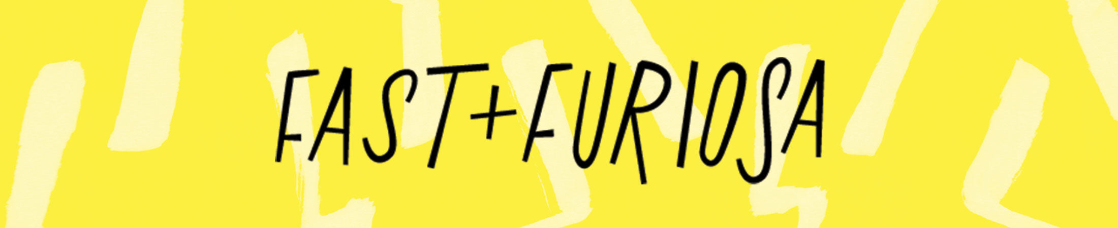 Fast + Furiosa: the Blog of Feminist Apparel