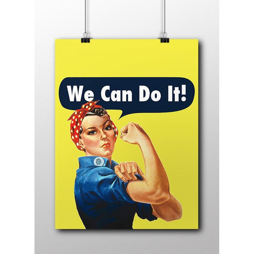 Rosie the Riveter -- Poster