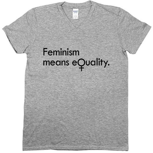 Feminism Means Equality -- Unisex T-Shirt - Feminist Apparel - 4