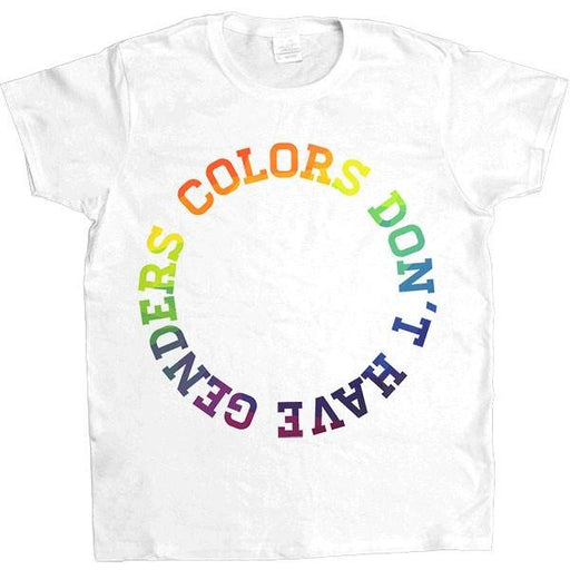 Colors Don't Have Genders -- Women's T-Shirt - Feminist Apparel - 1