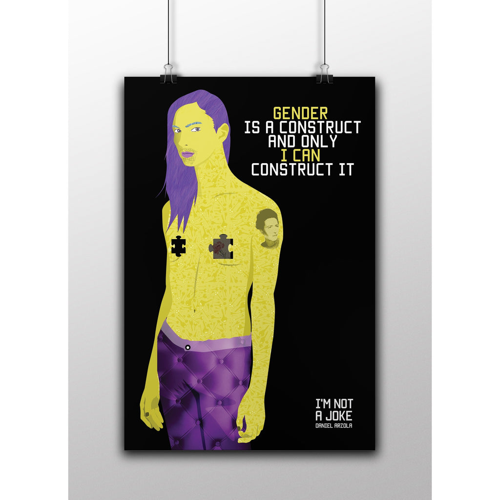 Gender Is A Construct -- Poster
