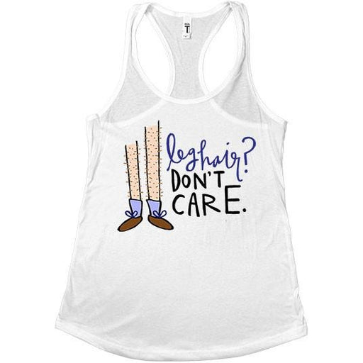 Leg Hair Don't Care #2 -- Women's Tanktop - Feminist Apparel - 2