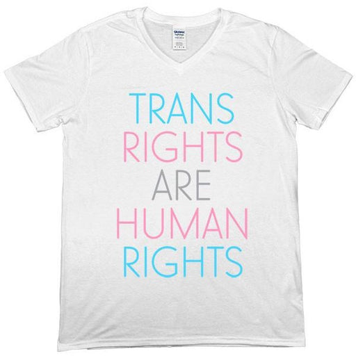 Trans Rights Are Human Rights -- Unisex T-Shirt - Feminist Apparel - 3