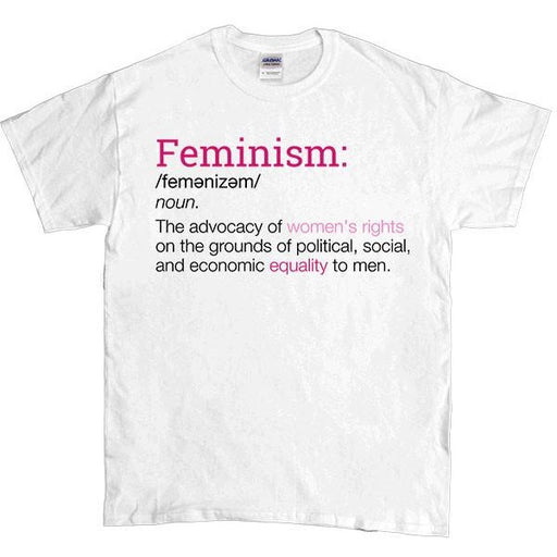 Definition of Feminism -- Unisex T-Shirt - Feminist Apparel - 1