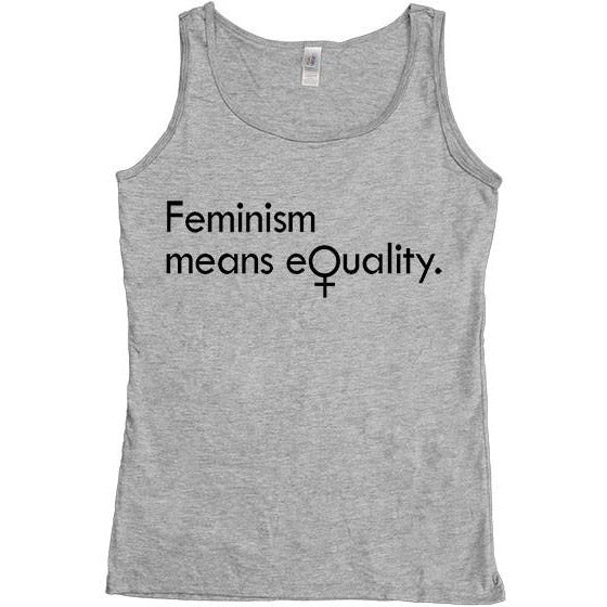 Feminism Means Equality -- Women's Tanktop - Feminist Apparel - 3