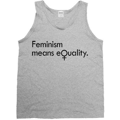 Feminism Means Equality -- Unisex Tanktop - Feminist Apparel - 2