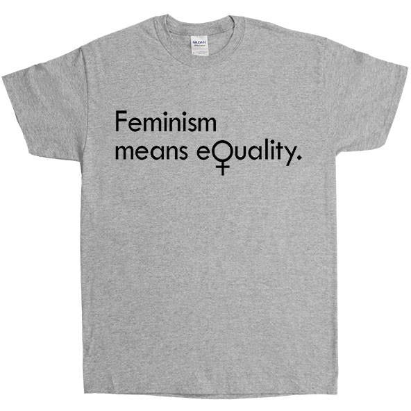 Feminism Means Equality -- Unisex T-Shirt - Feminist Apparel - 3