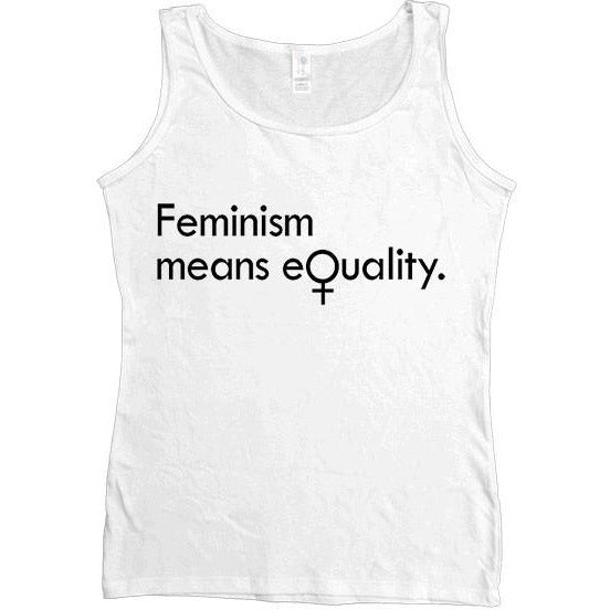 Feminism Means Equality -- Women's Tanktop - Feminist Apparel - 5