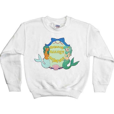 Mermaids Against Misogyny -- Youth Sweatshirt