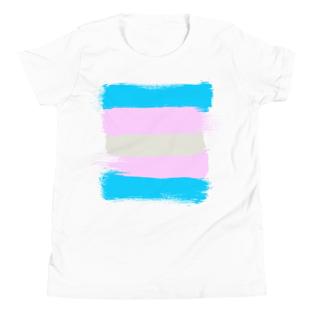 Trans Flag -- Youth/Toddler T-Shirt