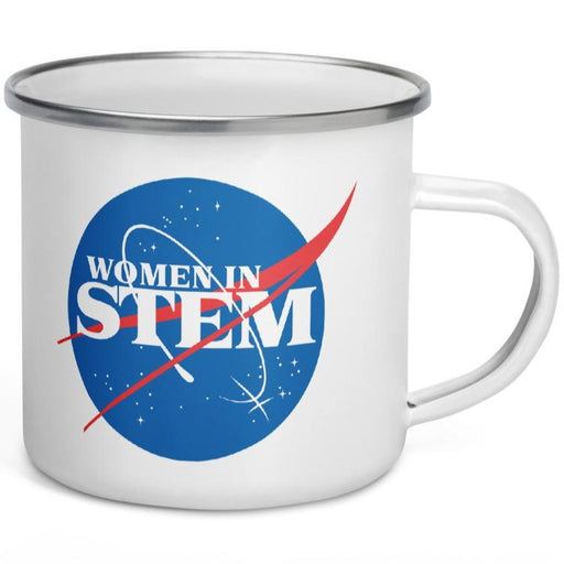 Women In STEM -- Enamel Mug